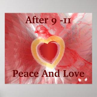 Después de paz y de amor de sept. del 11 en las al impresiones
