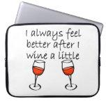 Después de que Wine un poco Mangas Portátiles