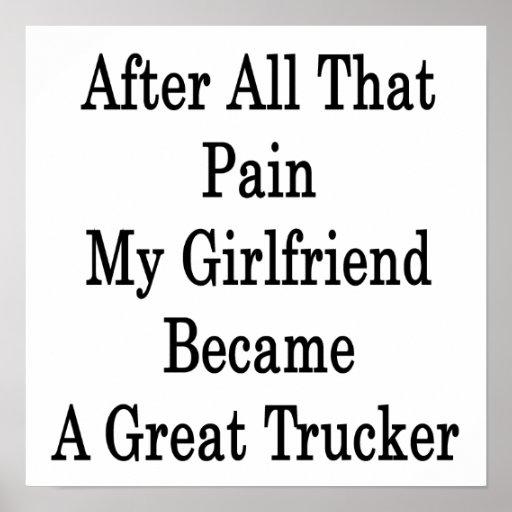 Después de todo ese dolor mi novia hizo un gran T Impresiones