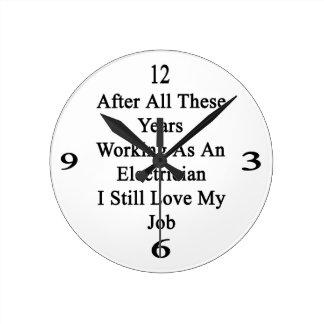 Después de todos estos años que trabajan como reloj redondo mediano