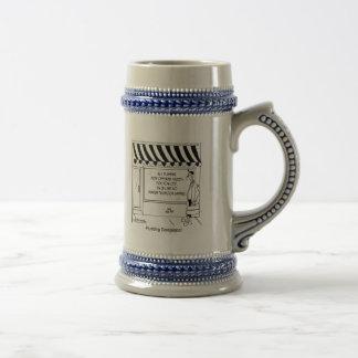 Desregulación de la fontanería jarra de cerveza