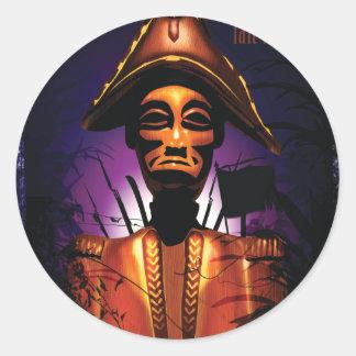 Dessalines Classic Round Sticker