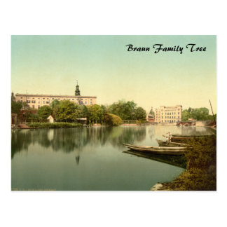 Dessau Castle, Anhalt, Germany Postcard