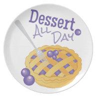 Dessert All Day Plate