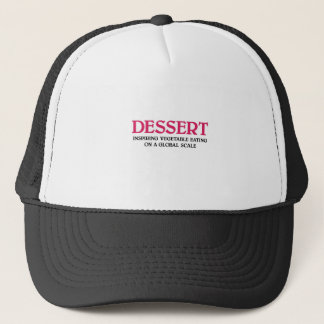 Dessert and Vegetables (pink edition) Trucker Hat