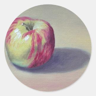 Dessert Apple Classic Round Sticker