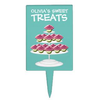 Dessert Buffet Cupcake Tower Sweet Treats Cake Topper