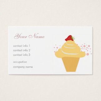 Dessert Business Card