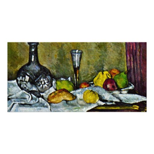 Dessert By Paul Cézanne (Best Quality) Photo Card Template