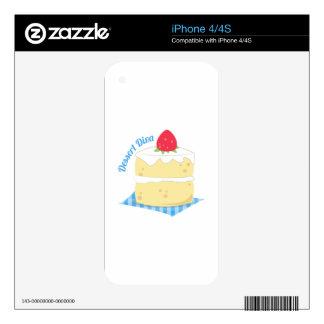 Dessert Diva Skin For The iPhone 4