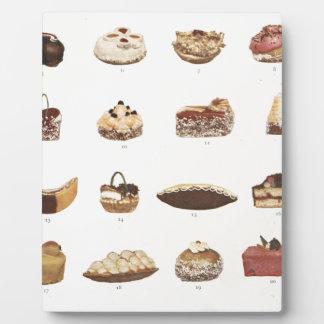Dessert Fancies Plaque