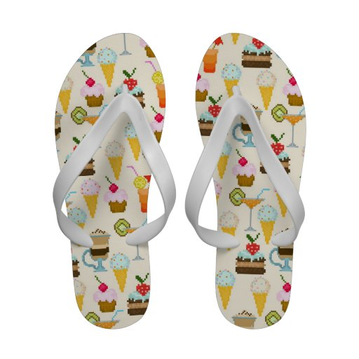 Dessert Flip Flops