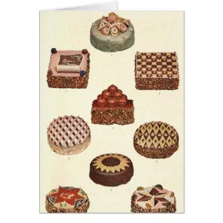 Dessert Gateaux Card