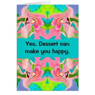 dessert happiness card