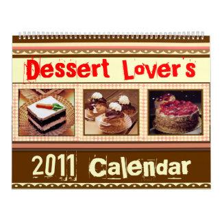 Dessert Lover's Calendar (2011 or custom)