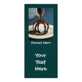 Dessert Menu: Ice Cream: Original Art Rack Cards