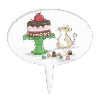 dessert mouse cake topper