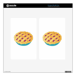 Dessert Pie Decals For Kindle Fire