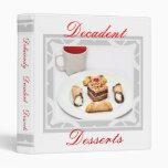 Dessert Recipe Binder