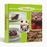 Dessert Recipes Binder