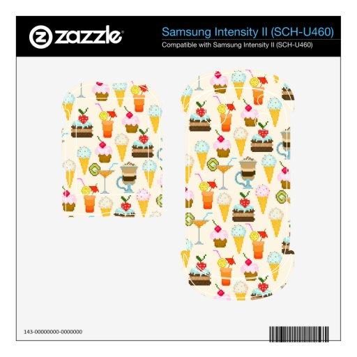Dessert Samsung Intensity Skins