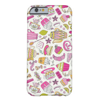 Dessert Tea Party Barely There iPhone 6 Case