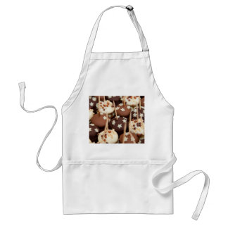 Dessert Tray with Chocolates and Sprinkles Adult Apron