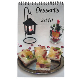 Desserts 2010 Calendar