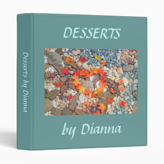 DESSERTS by Dianna Add Your Name Recipes binders