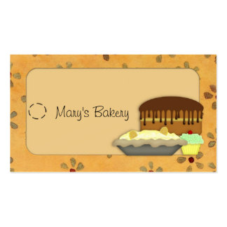 Desserts Hang Tag Business Card
