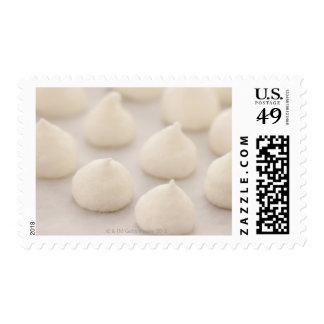 Desssert del merengue timbres postales