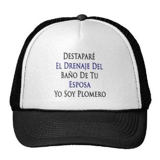 Destapare El Drenaje Del Bano De Tu Esposa Yo Soy Hat