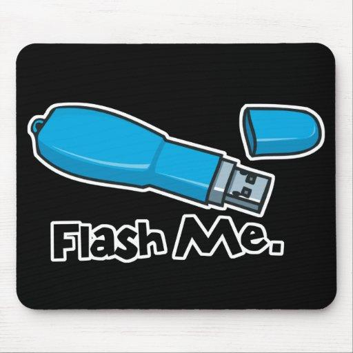 destella diseño de memoria USB Alfombrillas De Raton