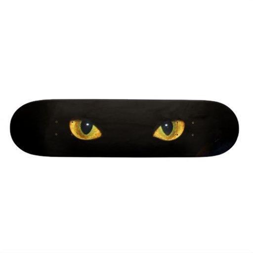 """destello del ojo de gatos patineta 7 3/8"""""""