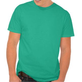 Desteñido vintage béseme que soy irlandés ahora me camiseta