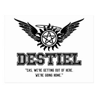 Destiel Quote Series - #33 Postcard