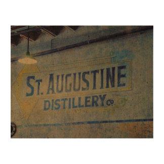 Destilería de St Augustine Impresiones En Corcho