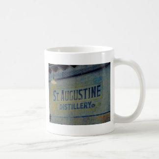Destilería de St Augustine Taza Básica Blanca