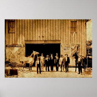 Destilería del whisky de Sechrist, York, Pennsylva Poster