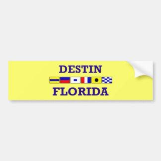 Destin Bumpersticker Bumper Sticker