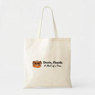 Destin Crab Canvas Bag