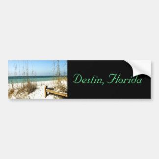 Destin, FL - pegatina para el parachoques de la es Pegatina Para Auto