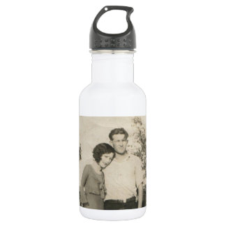 DESTIN FL WATER BOTTLE~  EDGAR AND VERA WALTER WATER BOTTLE