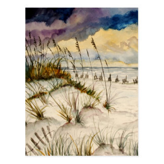 Destin Florida Beach Art Postcard