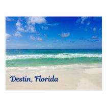 Destin Florida Beach Photography Vacation Postcard