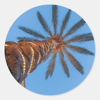 destin florida classic round sticker