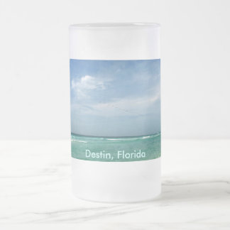 Destin, Florida Frosted Mug