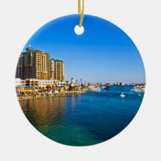 Destin Florida Harbor Beautiful Photo Ornaments