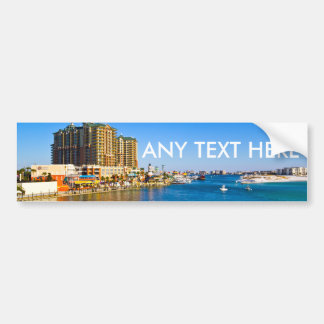 Destin Florida Make Your Own Bumper Sticker