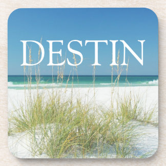 Destin Florida Sea Oats Coffee Drink Coasters